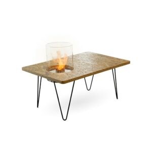 Planika Fire Table Mini Varnished-OSB