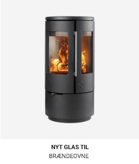 Nyt glas til brændeovne