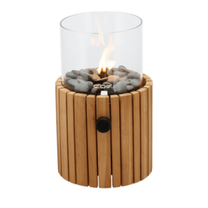 Cosi Timber Gas Lanterne H: 30 cm Ø: 18 cm