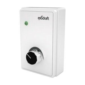 exodraft EFC35 styring