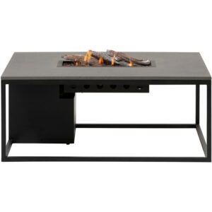 Cosiloft 120 lounge table sort grå