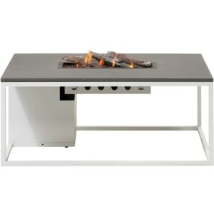 Cosiloft 120 lounge table hvid grå