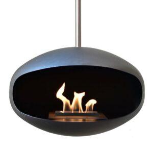 Cocoon Fires Aeris Sort/Rustfri Black/Stainless