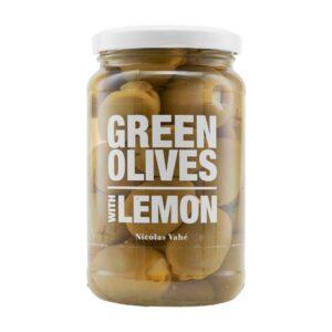 Nicolas Vahé Grønne oliven med lemon