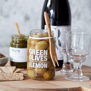 Nicolas Vahé Grønne oliven med lemon miljøbillede 1