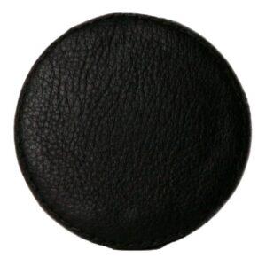 Ørskov Læderkrog 6,5 cm Sort