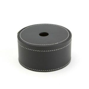 Ørskov Rund Læder Opbevaringsæske Lille Ø: 12 H: 7 cm